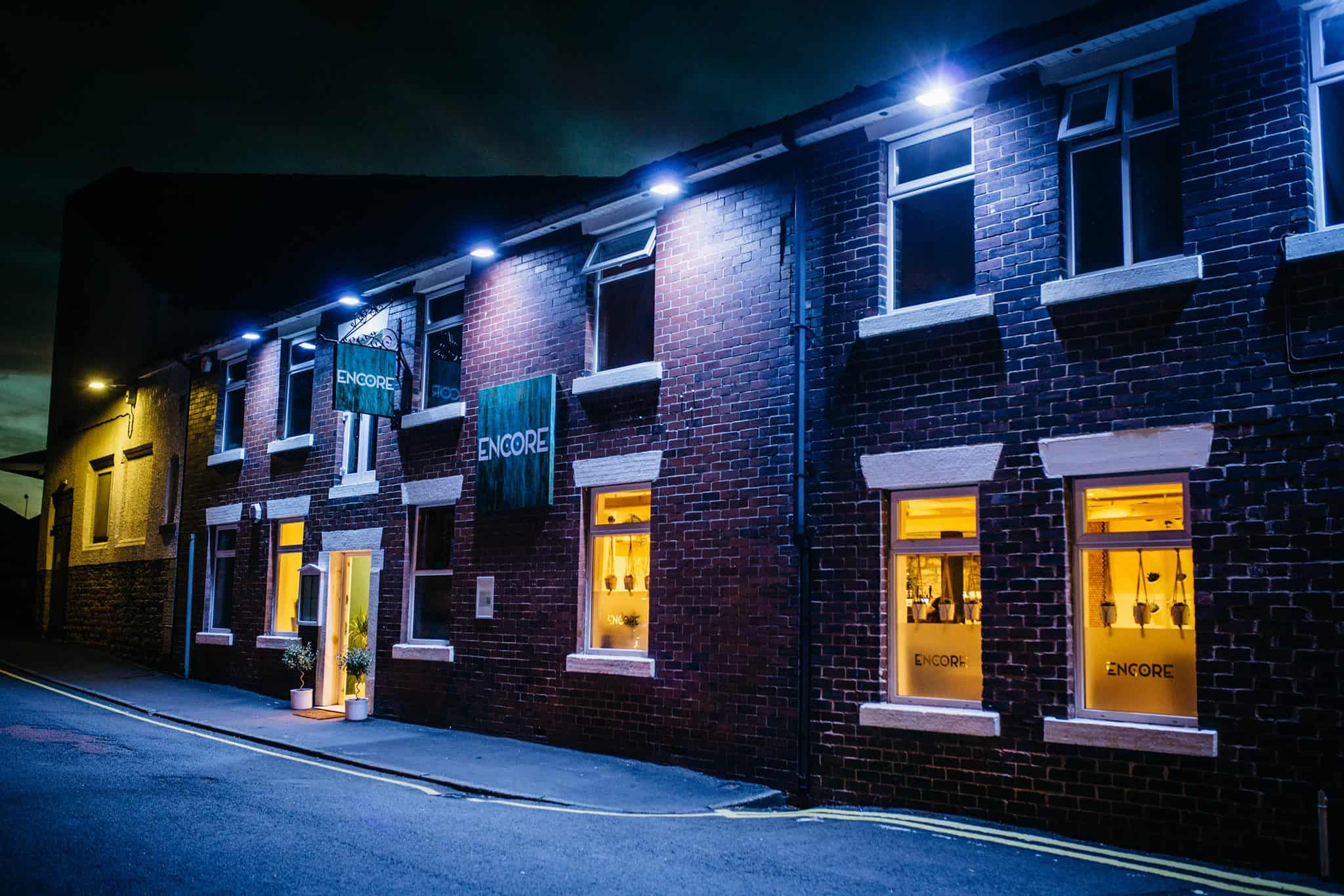 Encore highest rated restaurant Chorley Lancashire
